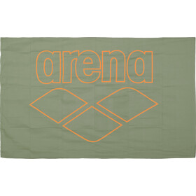 arena Pool Smart Handduk army-tangerine